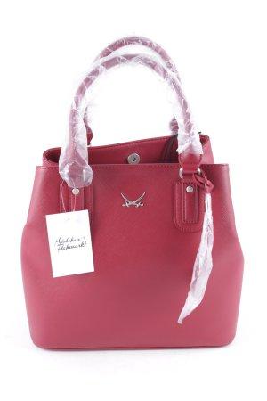 Sansibar Handtasche dunkelrot klassischer Stil