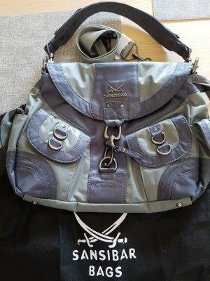 Sansibar Handtasche grau/blau