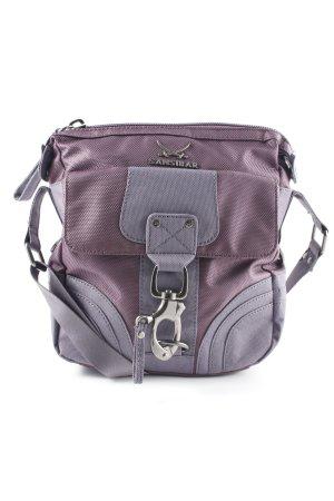 Sansibar Handtasche grauviolett-grau Street-Fashion-Look
