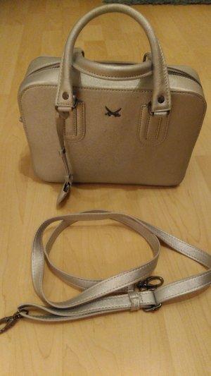 Sansibar Handtasche in Trendfarbe silber