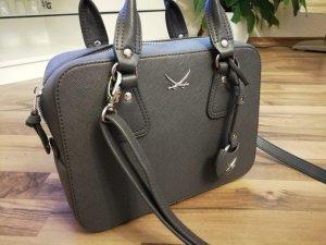 Sansibar Handtasche/Umhängetasche grau