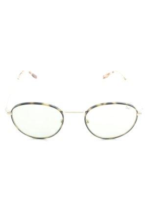 Sansibar runde Sonnenbrille mehrfarbig Casual-Look