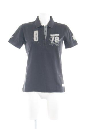 Sansibar Polo-Shirt anthrazit Casual-Look