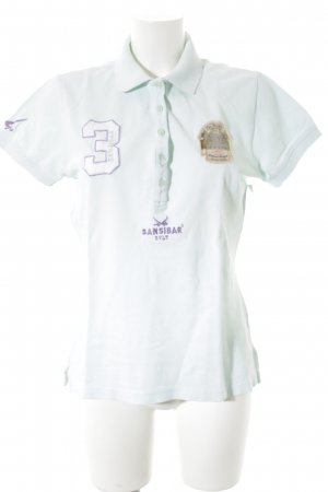 Sansibar Polo-Shirt mehrfarbig schlichter Stil