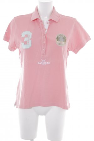Sansibar Polo-Shirt rosa Casual-Look