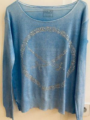 Sansibar sylt Cashmere Jumper azure-cornflower blue cashmere