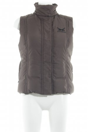 Sansibar Quilted Gilet light brown athletic style