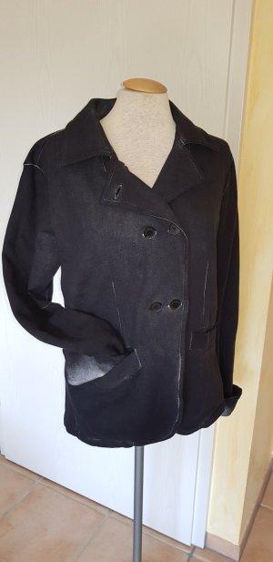 Sansibar Sweat Jacke Größe L, schwarz