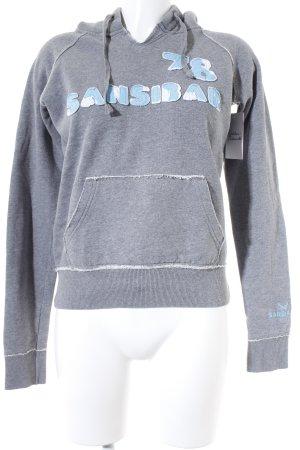 Sansibar Sweatshirt hellgrau Casual-Look