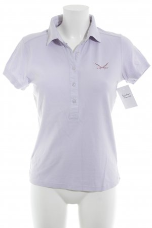 Sansibar sylt Polo-Shirt blasslila Casual-Look