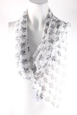 Sansibar sylt Seidentuch weiß-schwarz Casual-Look