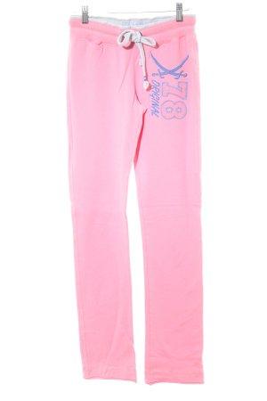 Sansibar sylt pantalonera rosa neón estilo deportivo