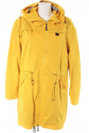 Sansibar sylt Between-Seasons-Coat dark yellow-black casual look