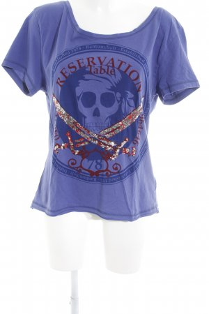 Sansibar T-Shirt grafisches Muster Casual-Look