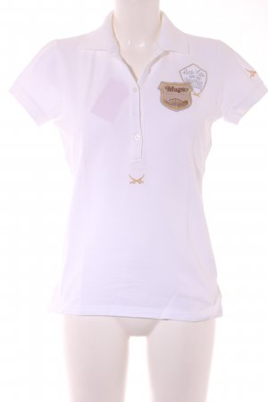 Sansibar Camiseta beige claro-color oro estilo deportivo