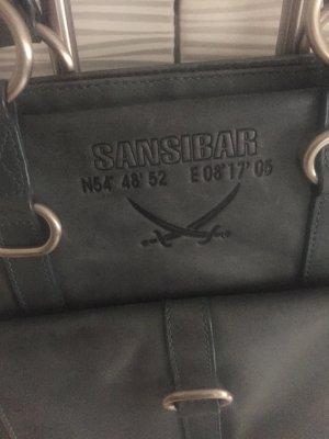 Sansibar Pouch Bag slate-gray