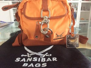 Sansibar Tasche in orange