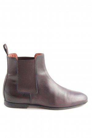Santoni Chelsea Boots lilac casual look
