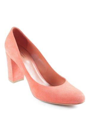 Santoni High Heels hellrot schlichter Stil