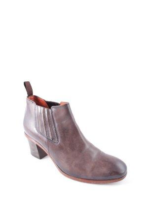 Santoni Slip-on laarzen bruin straat-mode uitstraling
