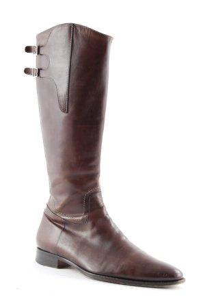 Santoni Halfhoge laarzen bruin casual uitstraling