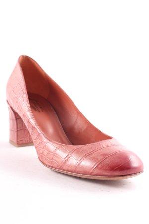 Santoni Loafers donkerrood elegant
