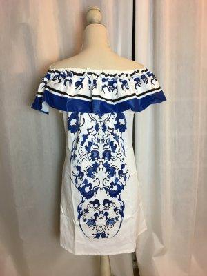 Santorini Dress schulterfrei Bardot schnitt. NEU Gr. 36