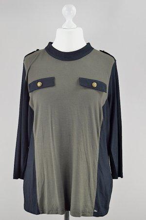 Sarah Kern Bluse mit Taschen neu mit Etikett olivgrün Größe 46