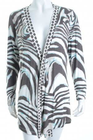 Sarah Kern Cardigan Animalmuster Street-Fashion-Look