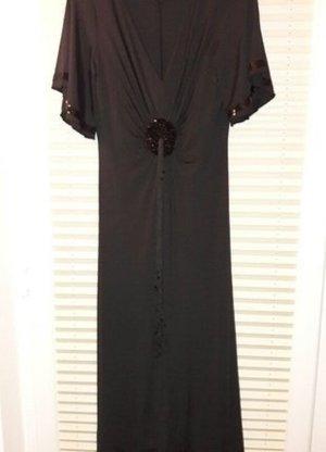 Sarah Kern Designer Abendkleid Größe 38 schwarz Damen