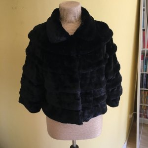 Sarah Kern Fur Jacket black