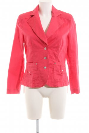 Sarah Kern Denim Blazer red business style