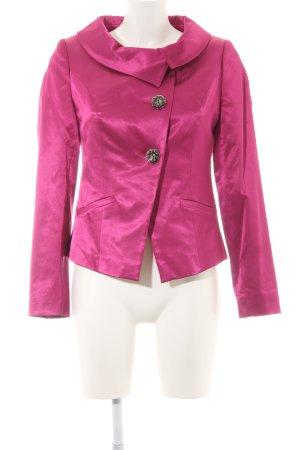Sarah Kern Kurz-Blazer pink extravaganter Stil