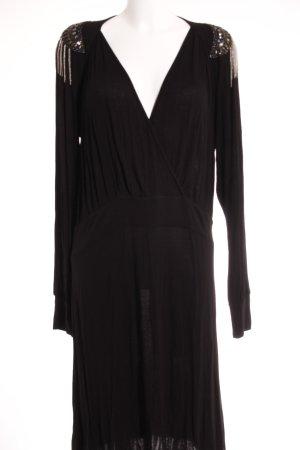 Sarah Kern Langarmkleid schwarz Elegant