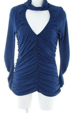 Sarah Kern Rollkragenpullover blau Casual-Look