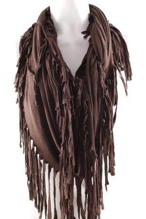 Sarah Kern Scaldacollo marrone scuro stile casual