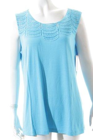 Sarah Kern Shirt hellblau Casual-Look