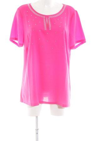 Sarah Kern Shirttunika pink Casual-Look