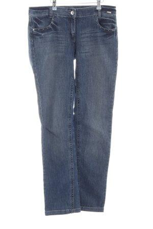 Sarah Kern Slim Jeans blau Casual-Look