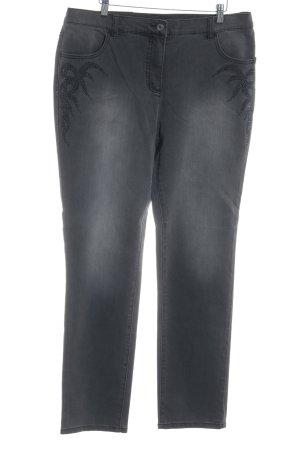 Sarah Kern Slim Jeans dunkelgrau Casual-Look