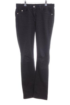Sarah Kern Straight-Leg Jeans schwarz Casual-Look