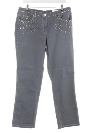 Sarah Kern Straight-Leg Jeans mehrfarbig Casual-Look