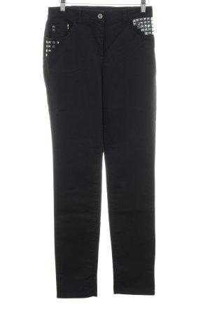 Sarah Kern Stretch Jeans schwarz Casual-Look