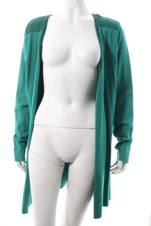 Sarah Kern Strick Cardigan grün Casual-Look