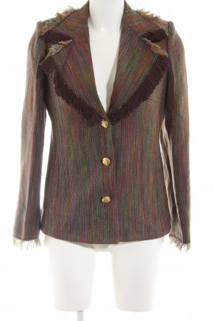 Sarah Kern Knitted Blazer multicolored casual look