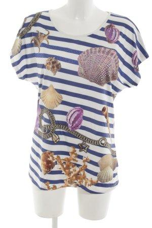 Sarah Kern T-Shirt abstraktes Muster extravaganter Stil