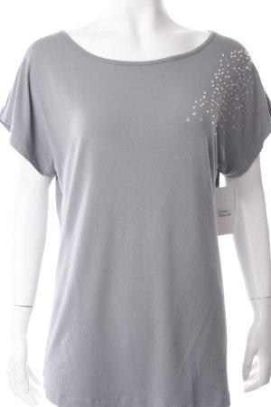 Sarah Kern T-Shirt grau Eleganz-Look