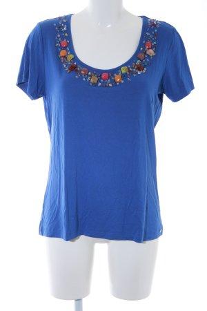 Sarah Kern T-Shirt kornblumenblau Casual-Look