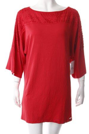 Sarah Kern T-Shirt rot Eleganz-Look