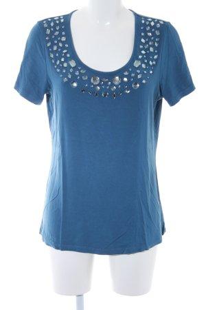Sarah Kern T-Shirt stahlblau Casual-Look